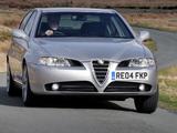 Pictures of Alfa Romeo 166 Ti UK-spec 936 (2004–2005)