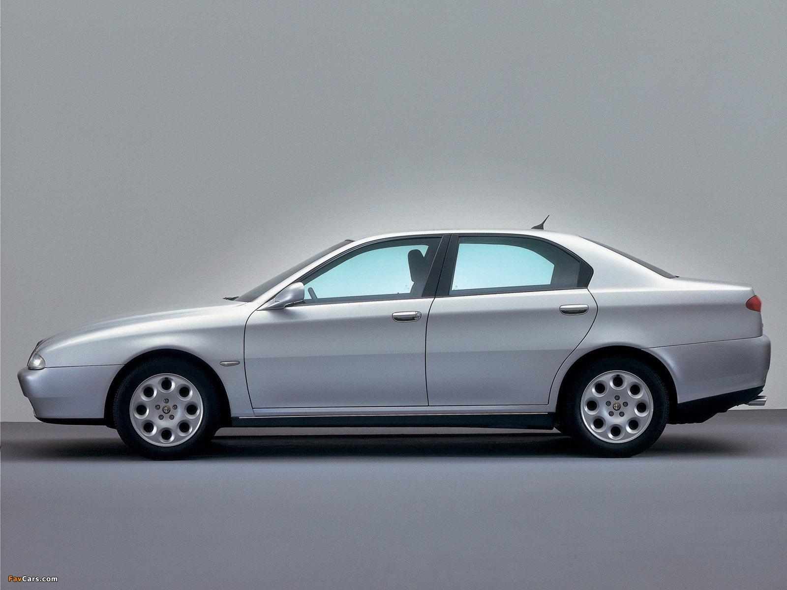 Pictures Of Alfa Romeo 166 936 1998 2003 1600x1200