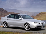 Alfa Romeo 166 Ti UK-spec 936 (2004–2005) wallpapers