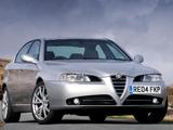 Alfa Romeo 166 Ti UK-spec (936) 2004–2005 wallpapers