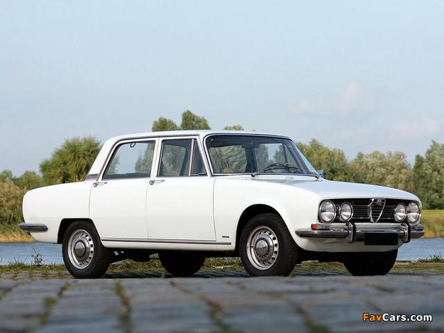 Alfa Romeo 1750 Berlina 105 (1967–1969) images (640 x 480)