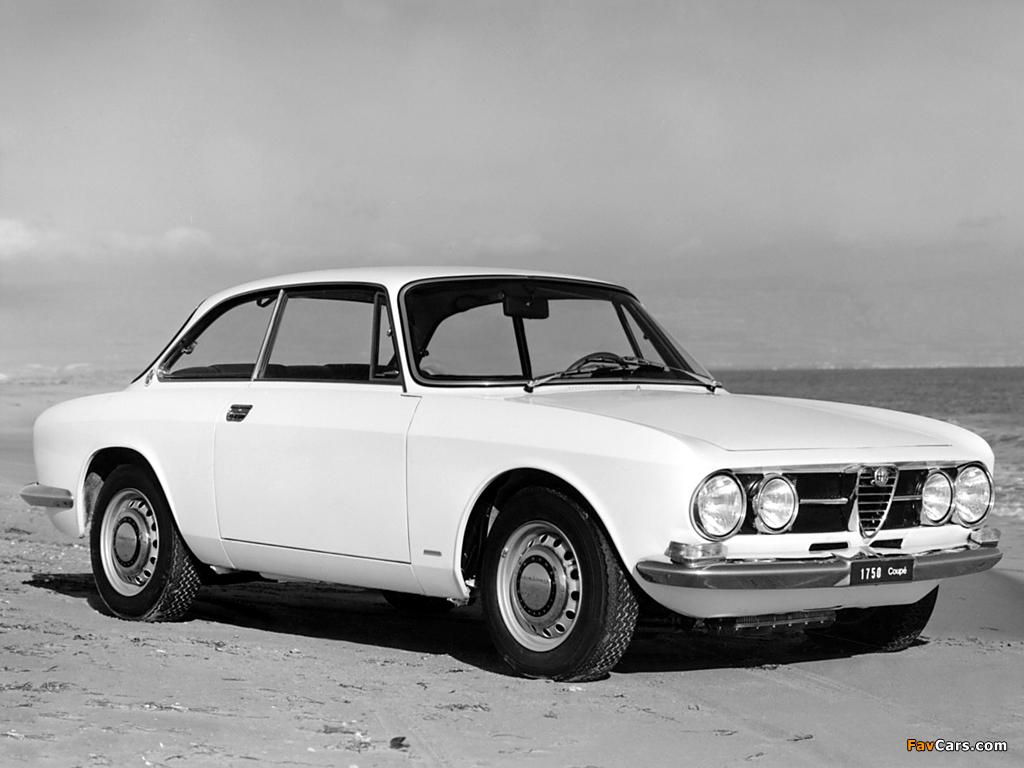 Alfa Romeo 1750 GT Veloce 105 (1967–1970) photos (1024 x 768)