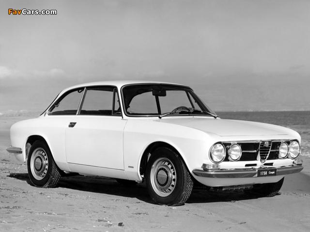 Alfa Romeo 1750 GT Veloce 105 (1967–1970) photos (640 x 480)