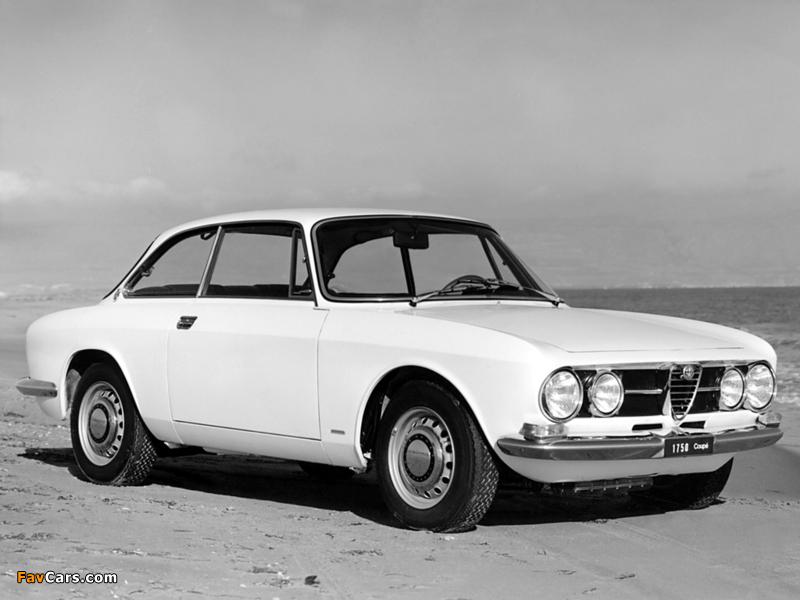 Alfa Romeo 1750 GT Veloce 105 (1967–1970) photos (800 x 600)