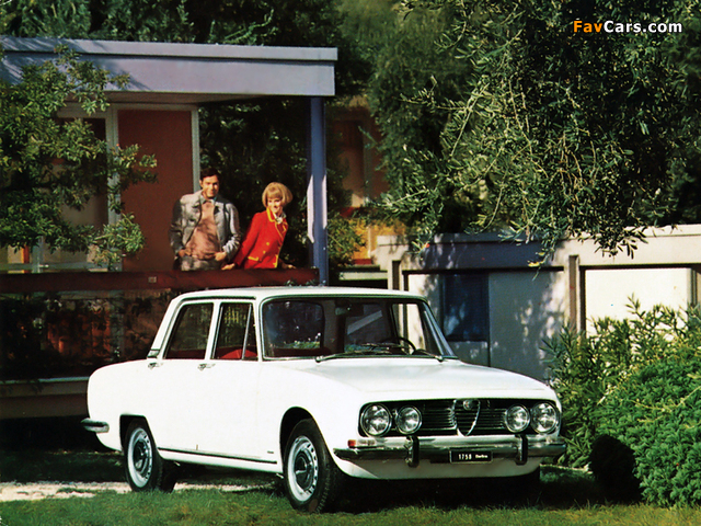 Alfa Romeo 1750 Berlina 105 (1967–1969) pictures (640 x 480)