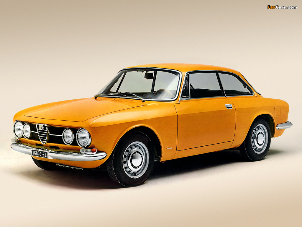 Pictures of Alfa Romeo 1750 GT Veloce 105 (1967–1970) (1024 x 768)