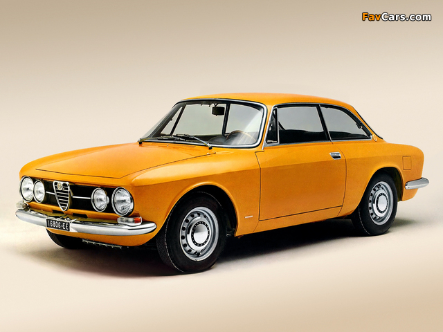 Pictures of Alfa Romeo 1750 GT Veloce 105 (1967–1970) (640 x 480)