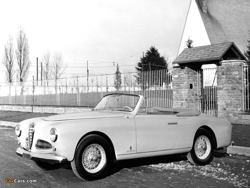 Alfa Romeo 1900 Cabriolet 1484 (1951–1954) images (800 x 600)