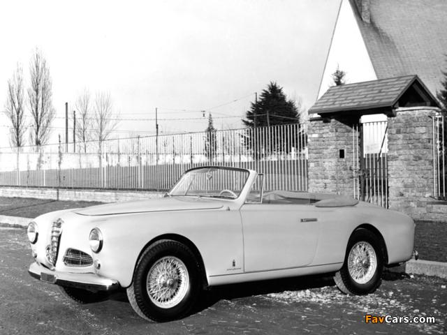 Alfa Romeo 1900 Cabriolet 1484 (1951–1954) images (640 x 480)