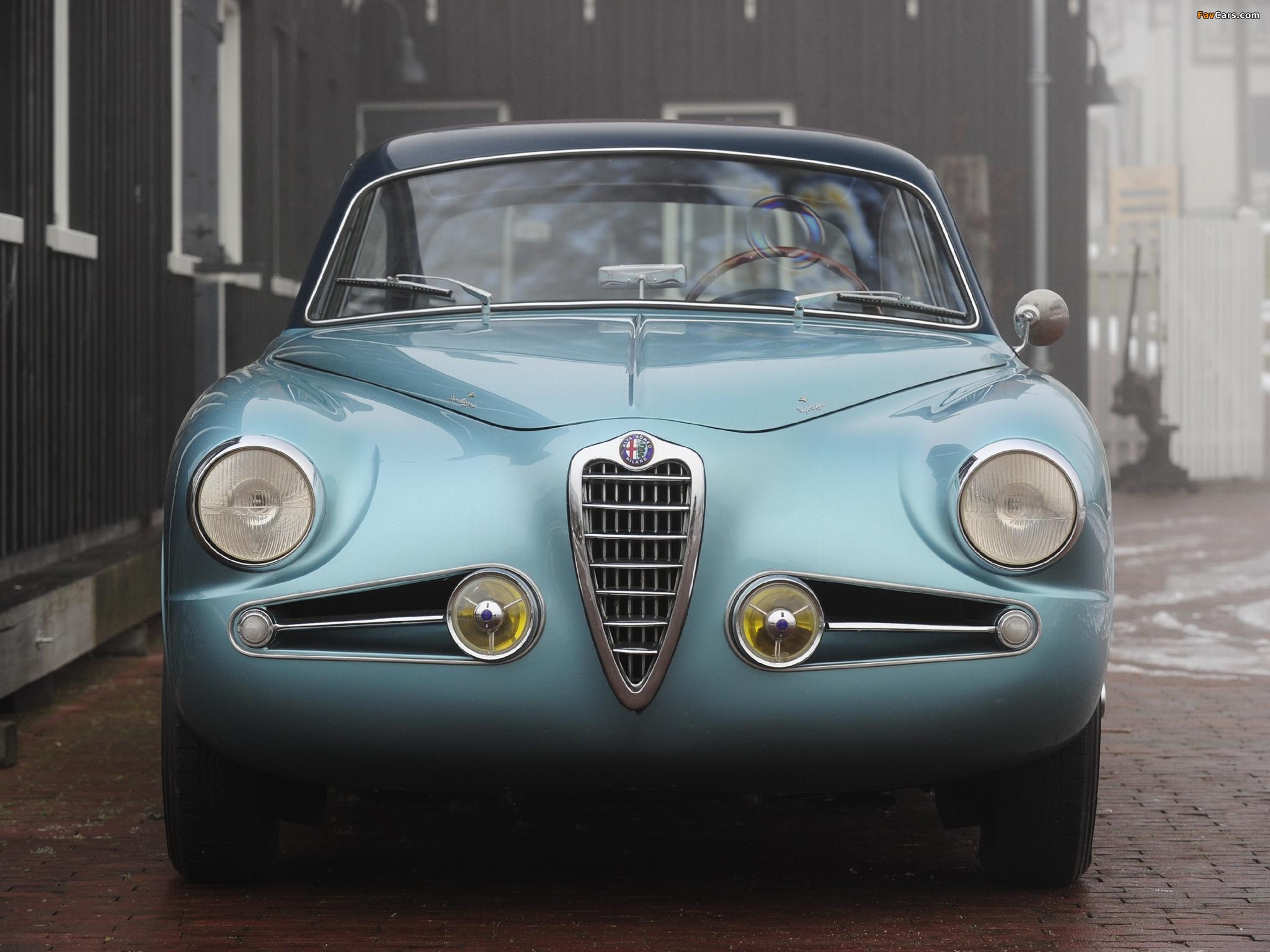 Alfa Romeo 1900 Super Sprint 1484 (1954–1956) images (2048 x 1536)