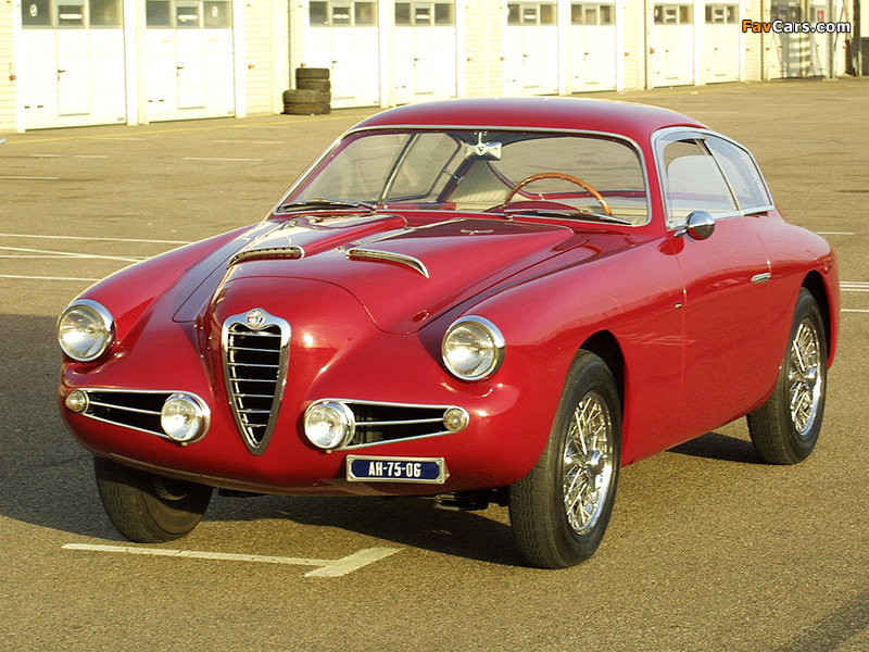Alfa Romeo 1900 SSZ 1484 (1954–1958) photos (800 x 600)