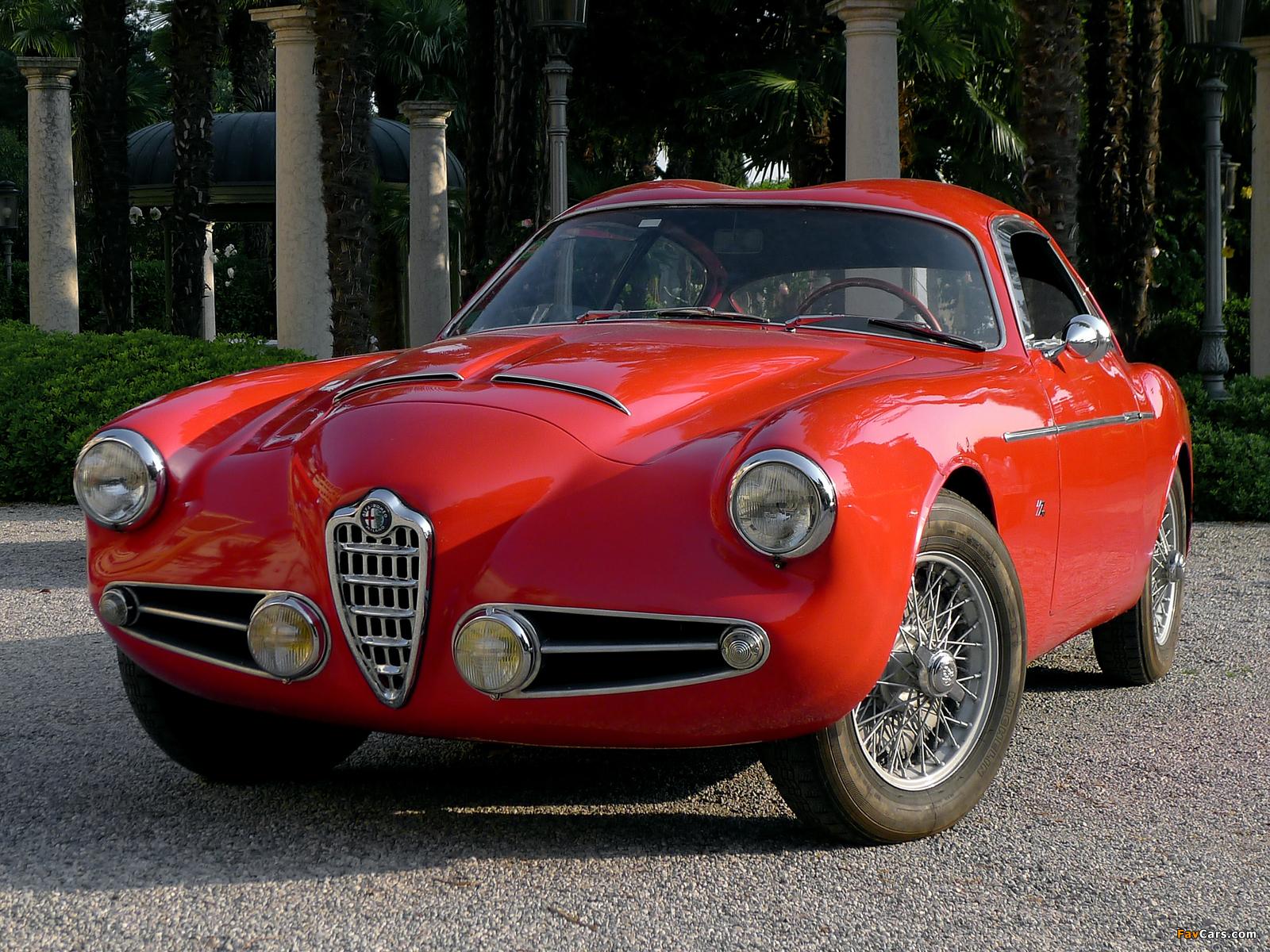 Alfa Romeo 1900 SSZ 1484 (1954–1958) pictures (1600 x 1200)