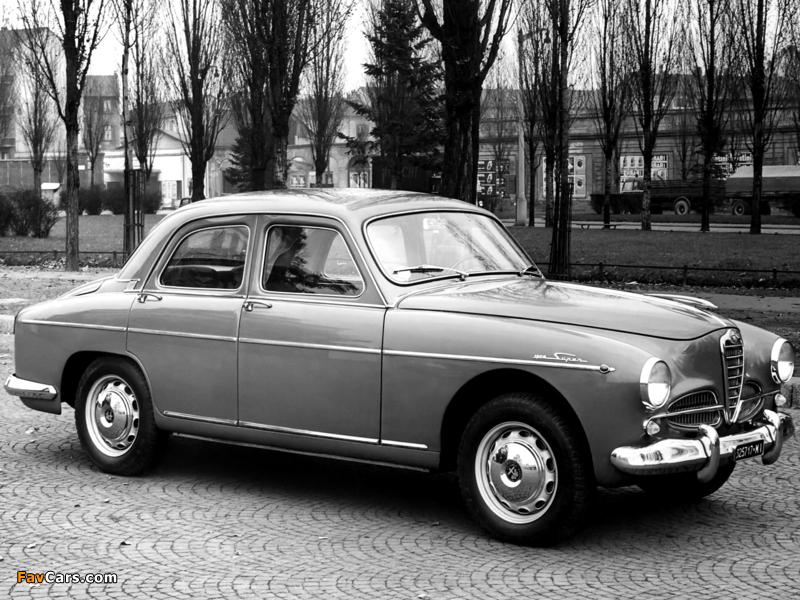 Alfa Romeo 1900 Super Berlina 1483 (1954–1959) wallpapers (800 x 600)