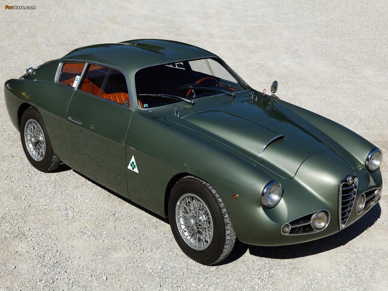 Alfa Romeo 1900 SSZ 1484 (1954–1958) photos (1280 x 960)