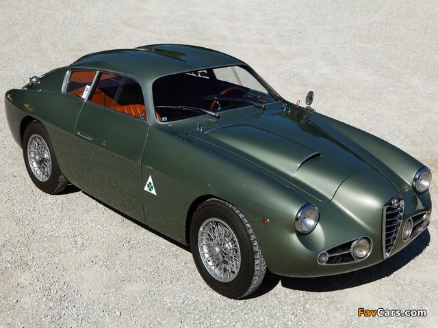 Alfa Romeo 1900 SSZ 1484 (1954–1958) photos (640 x 480)