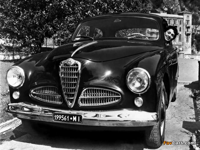 Images of Alfa Romeo 1900 Berlina 1483 (1950–1954) (640 x 480)