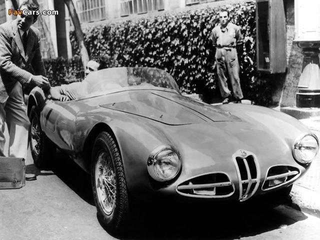 Photos of Alfa Romeo 1900 C52 Disco Volante Spider Fianchi Stretti 1359 (1952) (640 x 480)