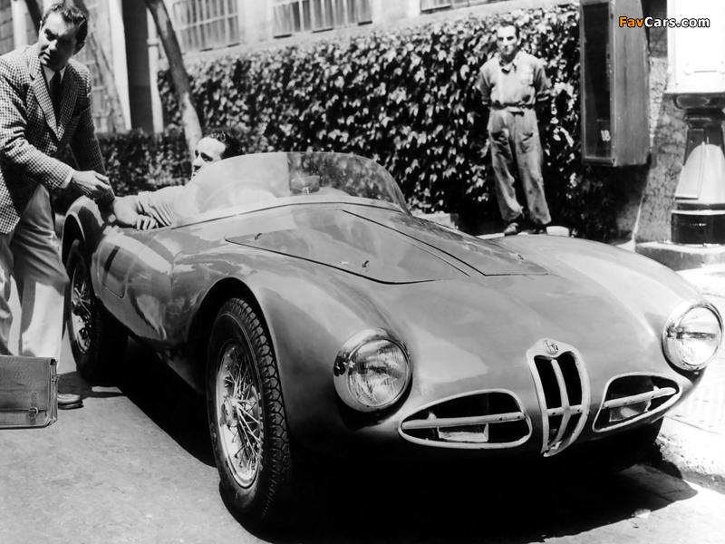 Photos of Alfa Romeo 1900 C52 Disco Volante Spider Fianchi Stretti 1359 (1952) (800 x 600)