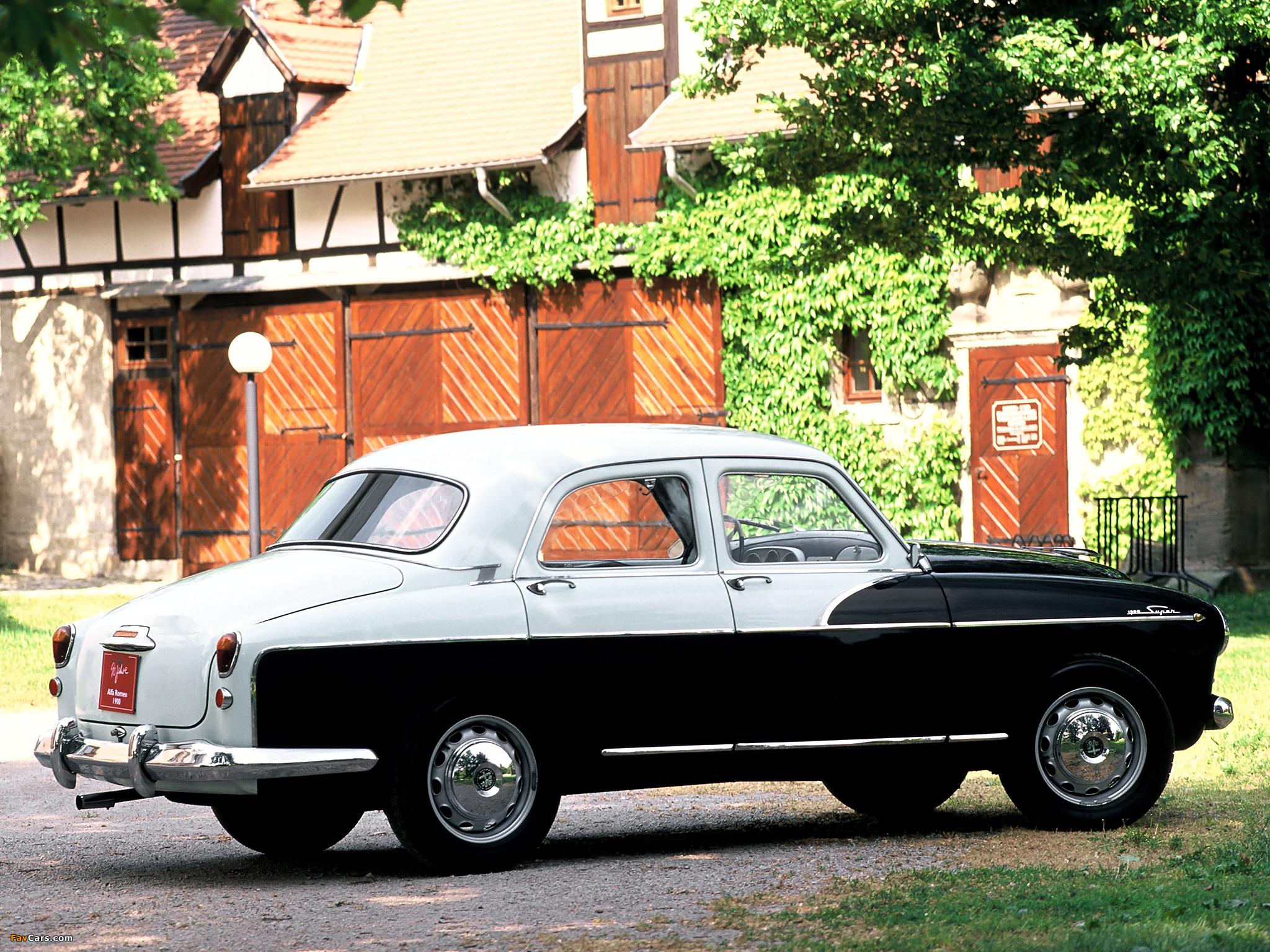 Photos of Alfa Romeo 1900 Super Berlina 1483 (1954–1959) (2048 x 1536)