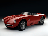 Alfa Romeo 2000 Sportiva Spider 1366 (1954) wallpapers