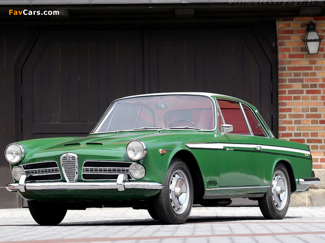 Alfa Romeo 2000 Vignale Coupe 102 (1958–1961) pictures (640 x 480)