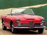 Pictures of Alfa Romeo 2600 Spider UK-spec 106 (1963–1964)