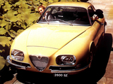 Alfa Romeo 2600 SZ 106 (1965–1967) wallpapers