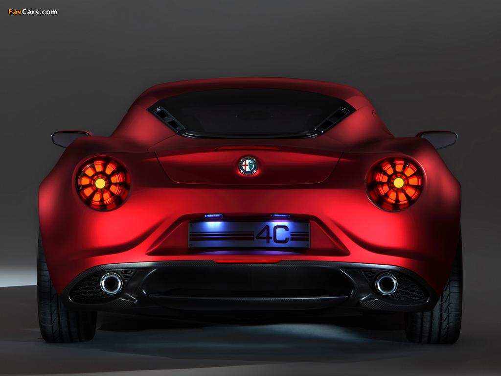 Alfa Romeo 4C Concept 970 (2011) images (1024 x 768)