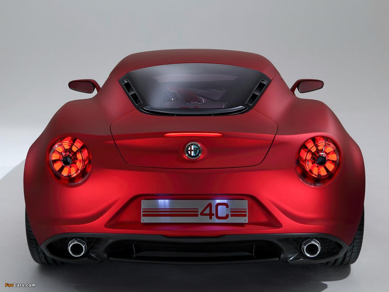 Alfa Romeo 4C Concept 970 (2011) photos (1280 x 960)