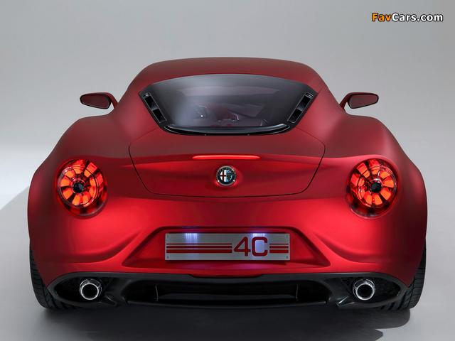 Alfa Romeo 4C Concept 970 (2011) photos (640 x 480)