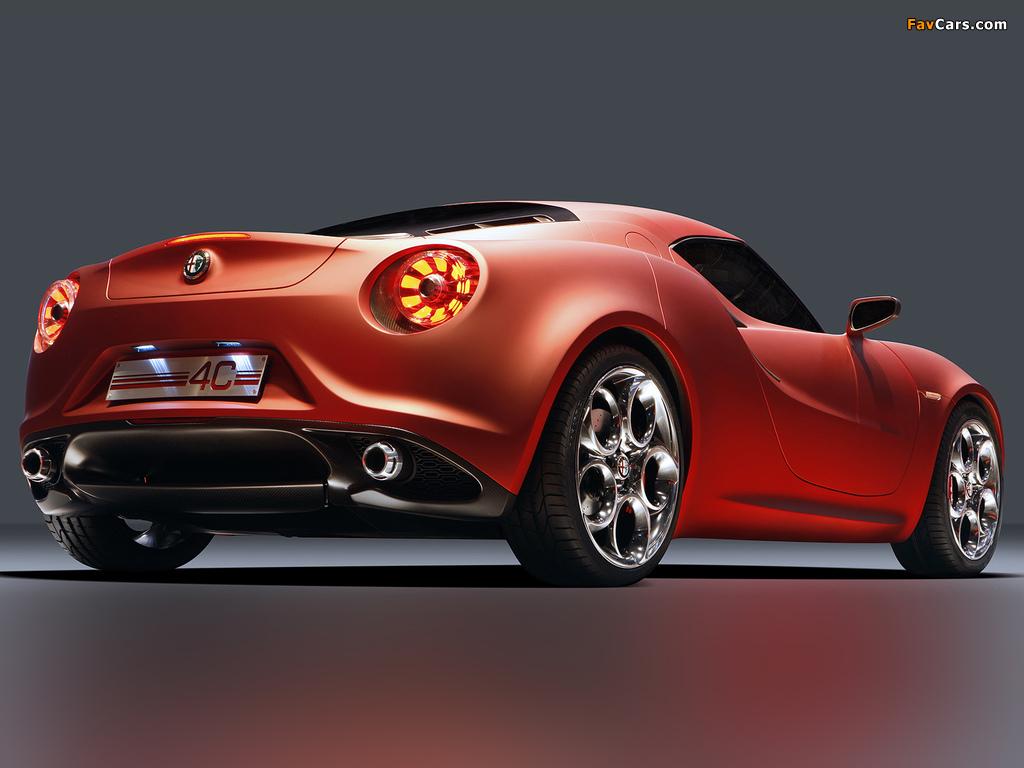 Alfa Romeo 4C Concept 970 (2011) wallpapers (1024 x 768)