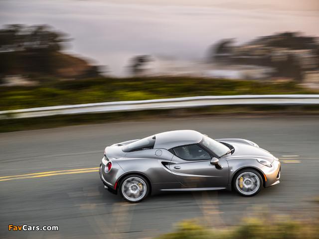 Alfa Romeo 4C North America (960) 2014 images (640 x 480)