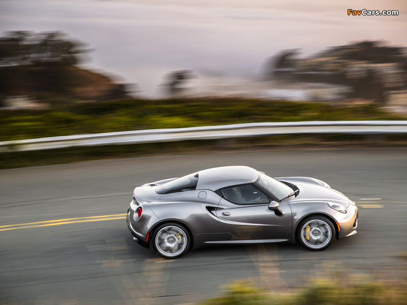 Alfa Romeo 4C North America (960) 2014 images (800 x 600)