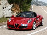 Alfa Romeo 4C Spider (960) 2015 images