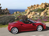 Alfa Romeo 4C Spider (960) 2015 photos