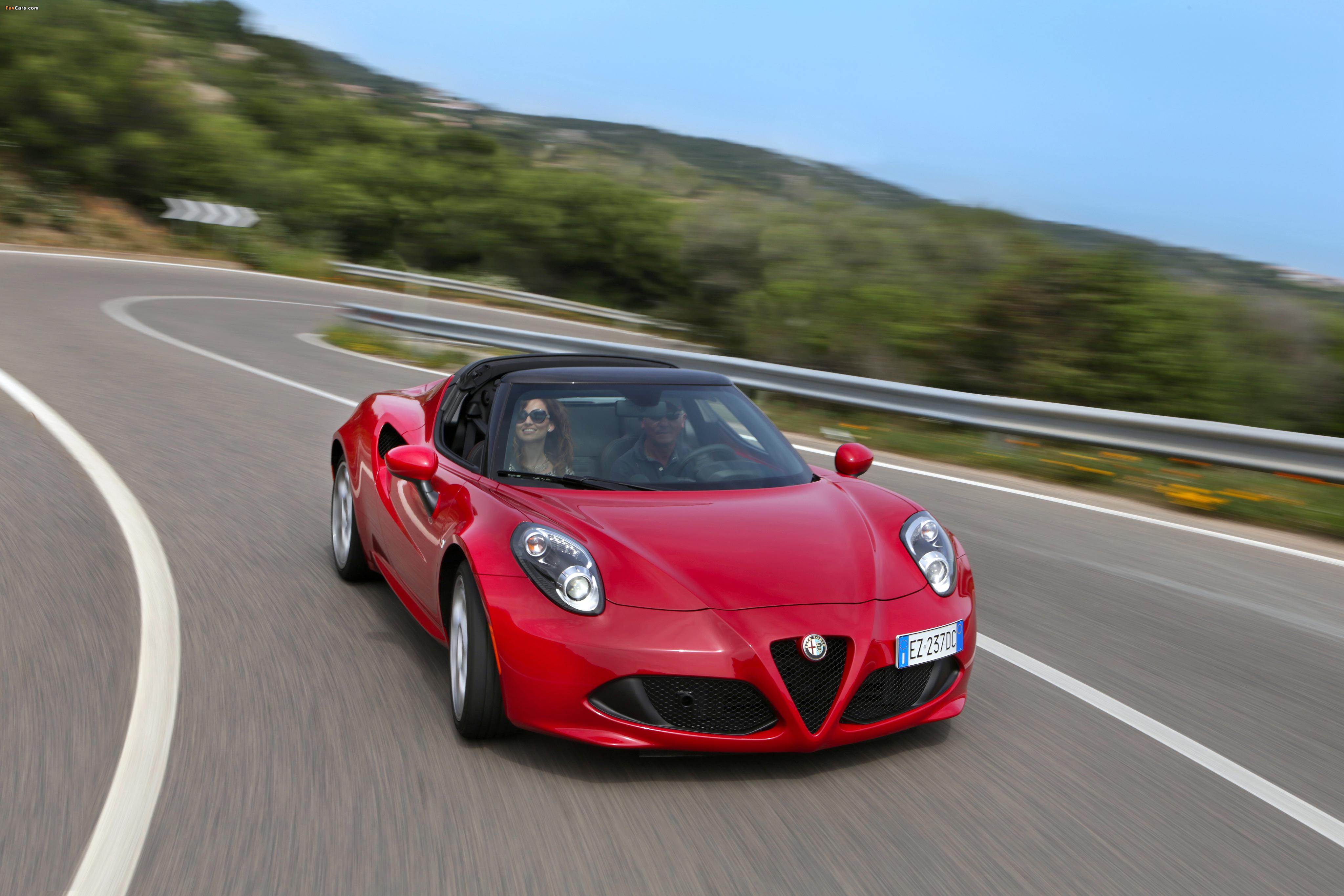 Alfa Romeo 4C Spider (960) 2015 photos (4096 x 2731)