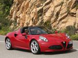 Alfa Romeo 4C Spider (960) 2015 pictures