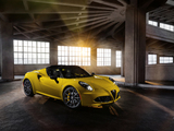 Alfa Romeo 4C Spider North America (960) 2015 wallpapers