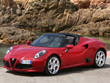 Images of Alfa Romeo 4C Spider (960) 2015