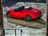 Images of Alfa Romeo 4C Spider North America (960) 2015