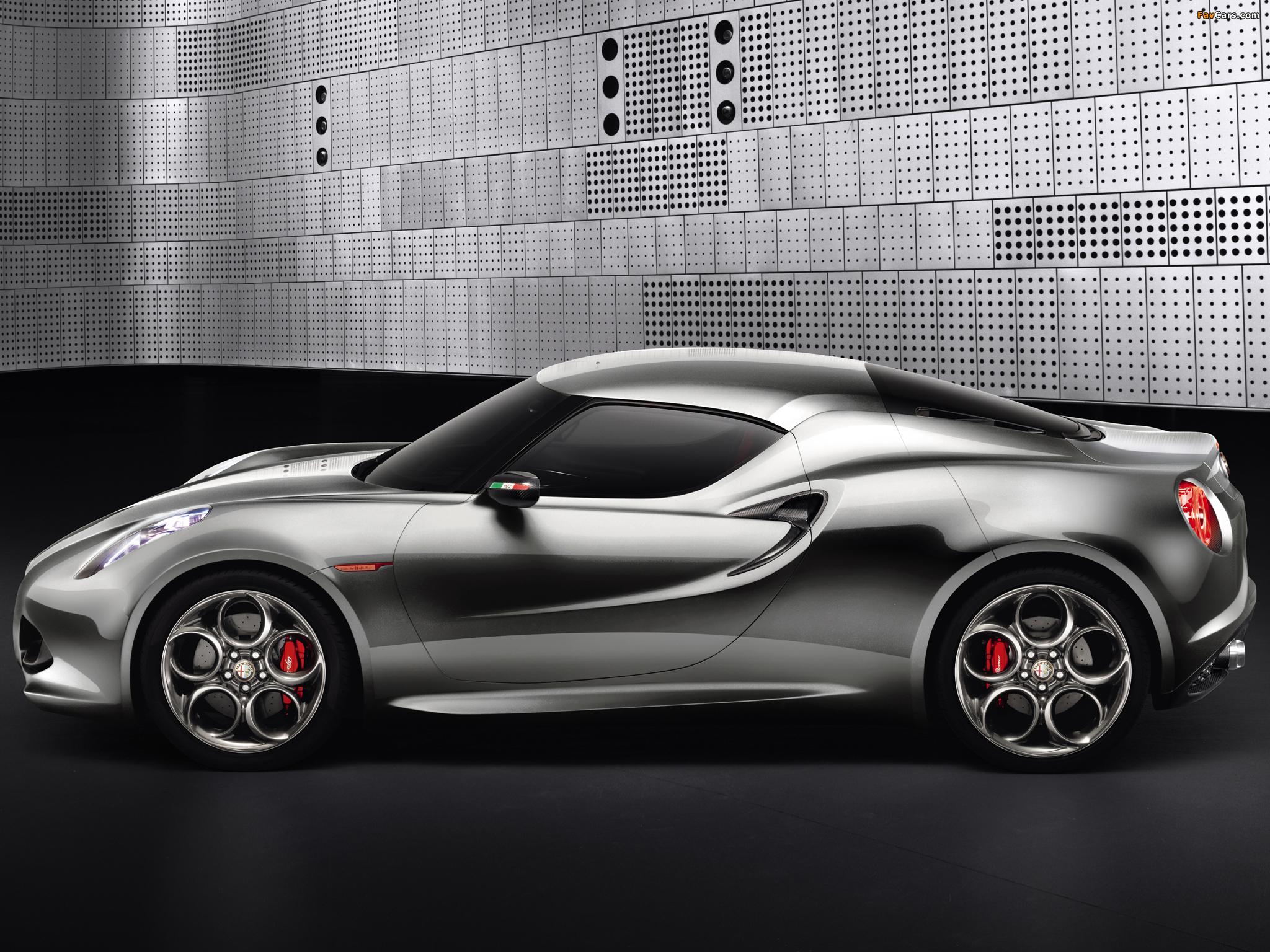 Photos of Alfa Romeo 4C Concept 970 (2011) (2048 x 1536)