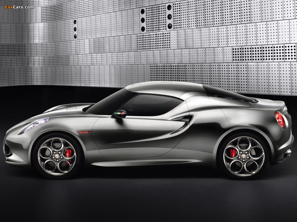 Photos of Alfa Romeo 4C Concept 970 (2011) (1024 x 768)