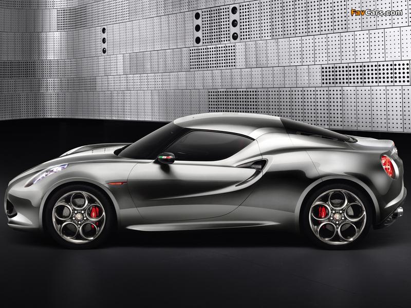 Photos of Alfa Romeo 4C Concept 970 (2011) (800 x 600)