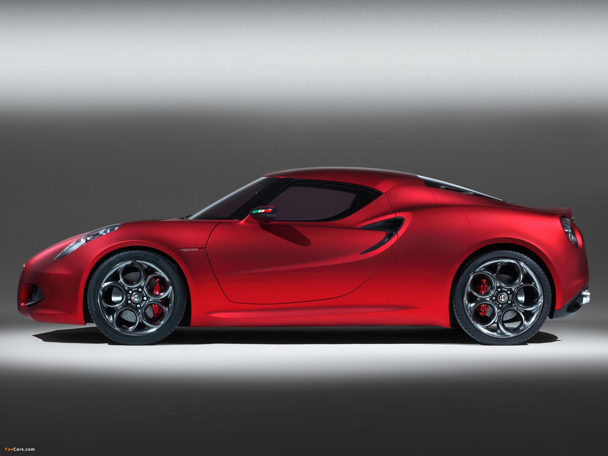 Pictures of Alfa Romeo 4C Concept 970 (2011) (2048 x 1536)