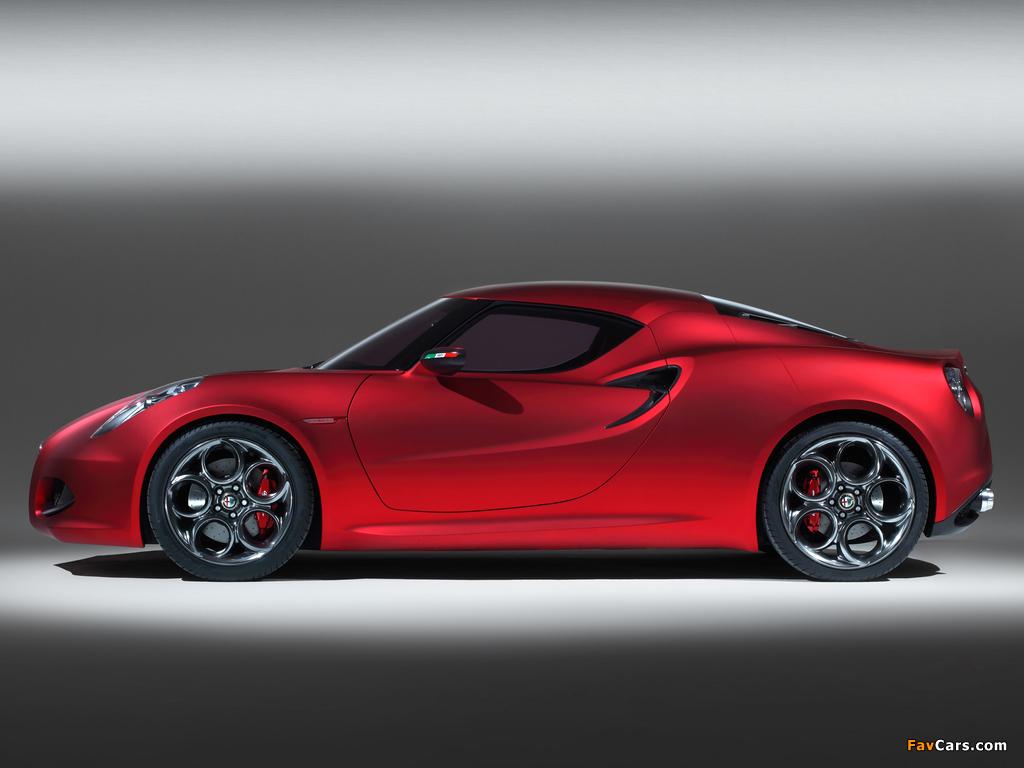 Pictures of Alfa Romeo 4C Concept 970 (2011) (1024 x 768)