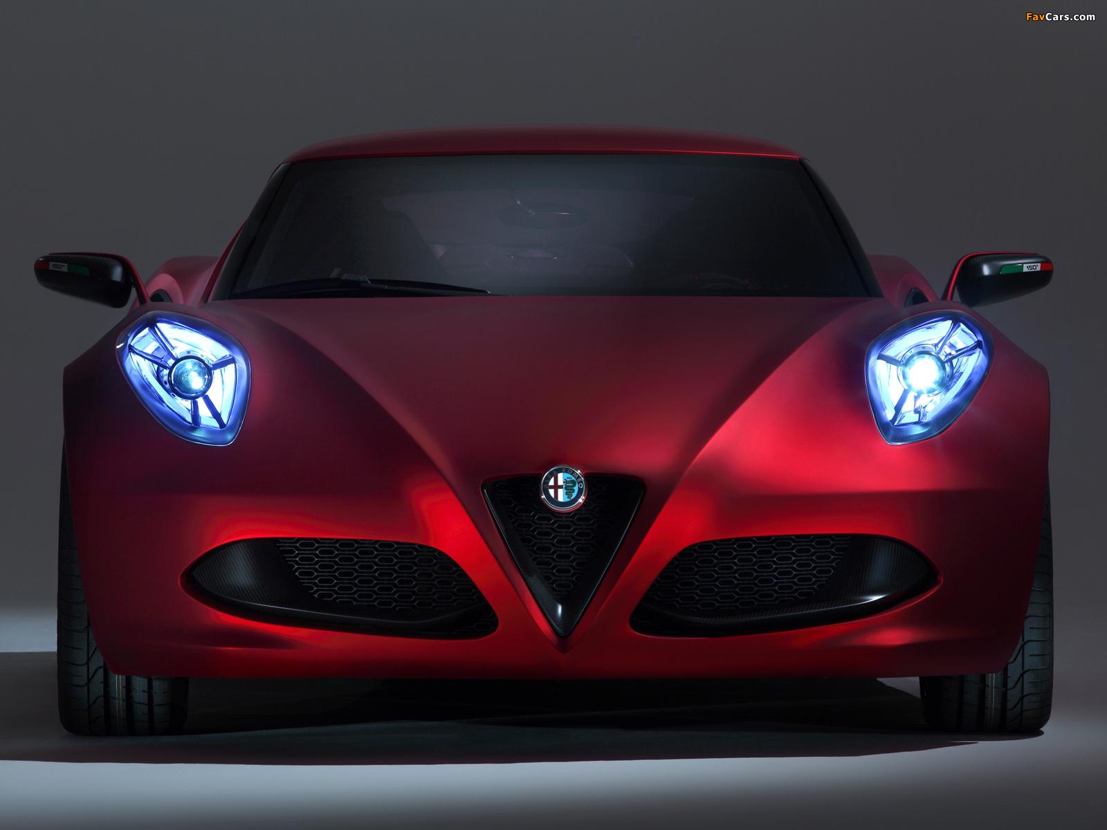 Pictures of Alfa Romeo 4C Concept 970 (2011) (1600 x 1200)
