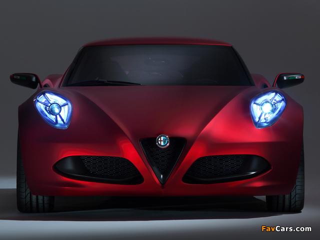 Pictures of Alfa Romeo 4C Concept 970 (2011) (640 x 480)