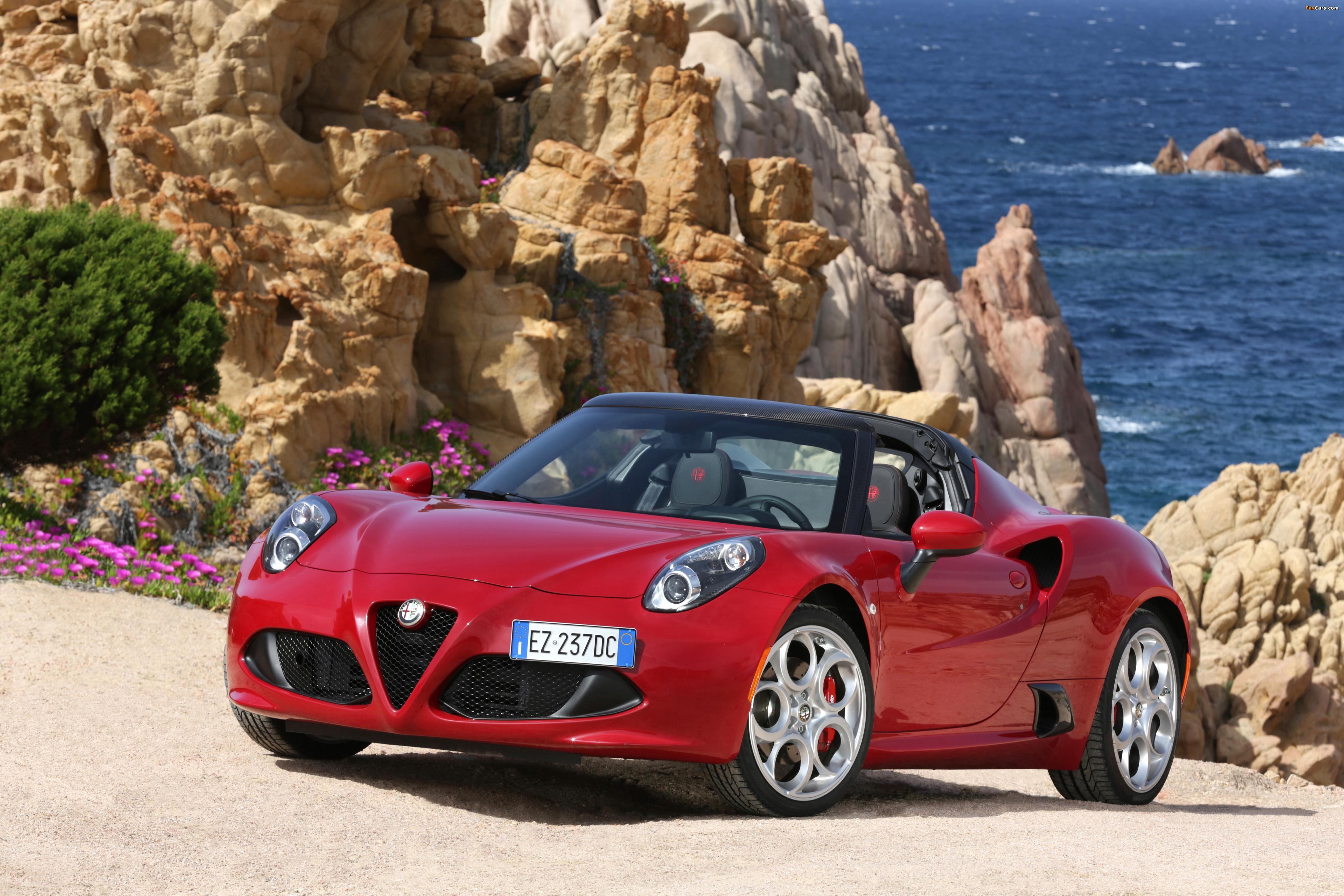 Pictures of Alfa Romeo 4C Spider (960) 2015 (4096 x 2731)