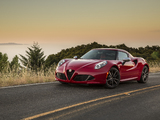 Alfa Romeo 4C North America (960) 2014 wallpapers