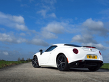 Alfa Romeo 4C UK-spec (960) 2014 wallpapers